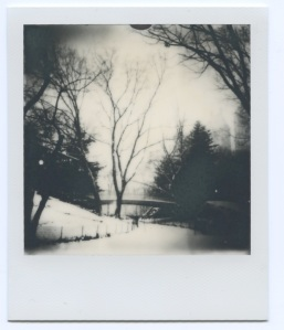 Winter scene Bridge