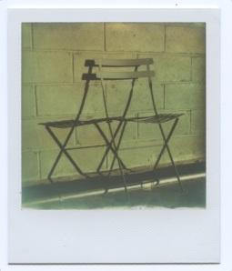 Chair on Highline