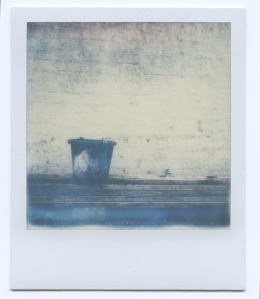 Bucket in Polaroid